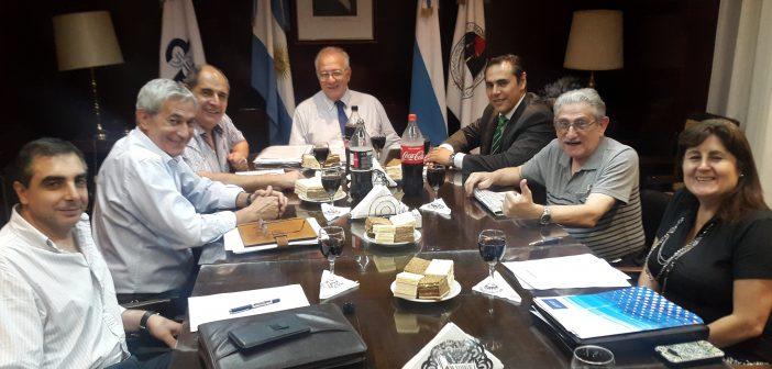 Mesa de enlace entre autoridades de AFIP y directivos del CGCET