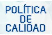 POLÍTICA DE CALIDAD DEL CGCET
