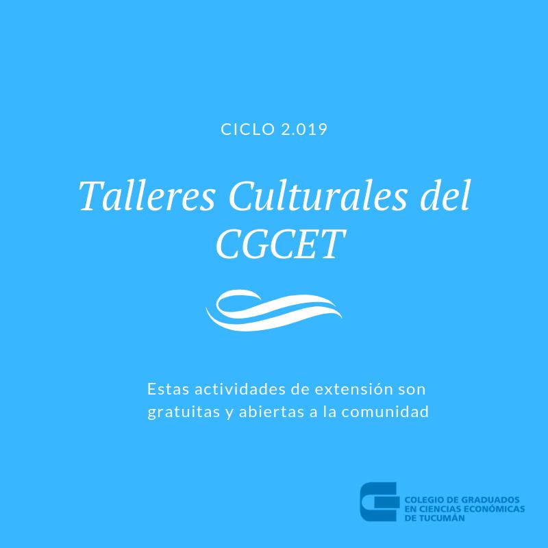 Talleres Culturales del CGCET