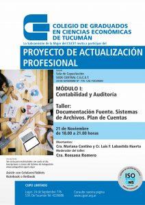 Contabilidad y Auditoria: Documentación fuente. Sistema de Archivos. Plan de Cuentas