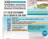 XXII Congreso Nacional de Profesionales de Ciencias Económicas|San Juan 2018
