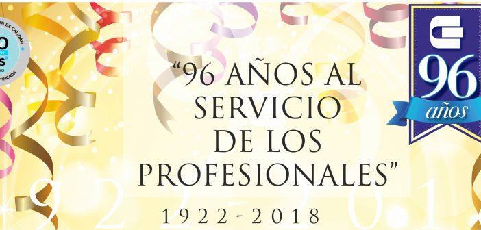 Un nuevo Aniversario comprometidos con nuestros matriculados – 96 años
